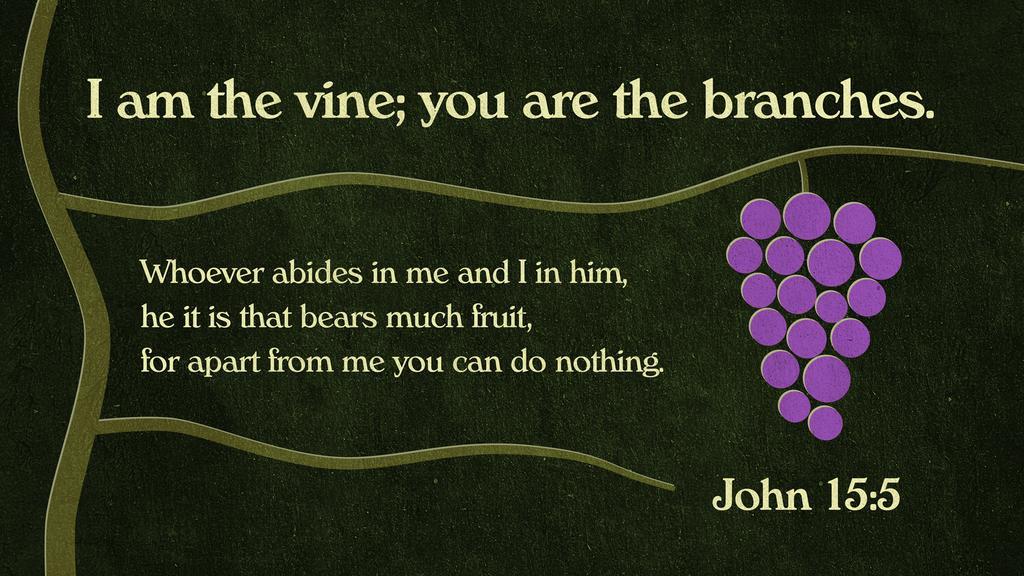 John 15:5 large preview
