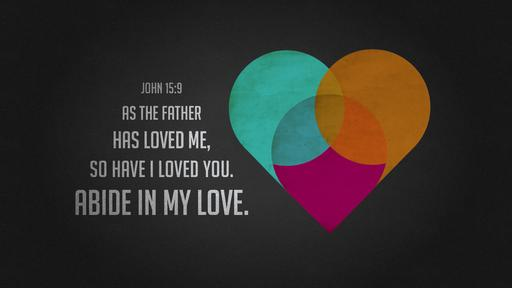 John 15:9 verse of the day image