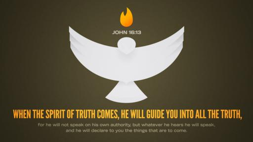 John 16:13 verse of the day image