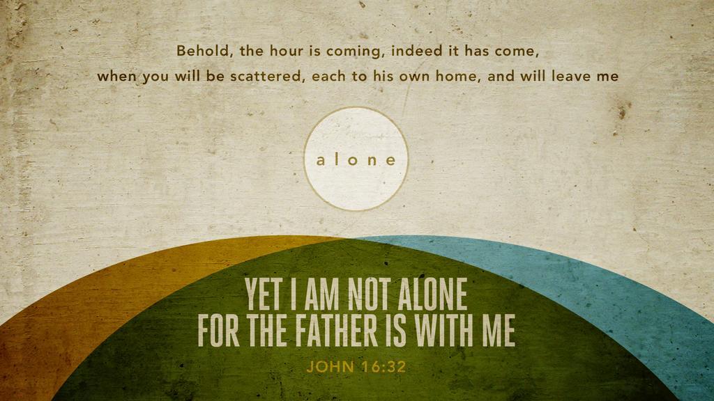 John 16:32 large preview