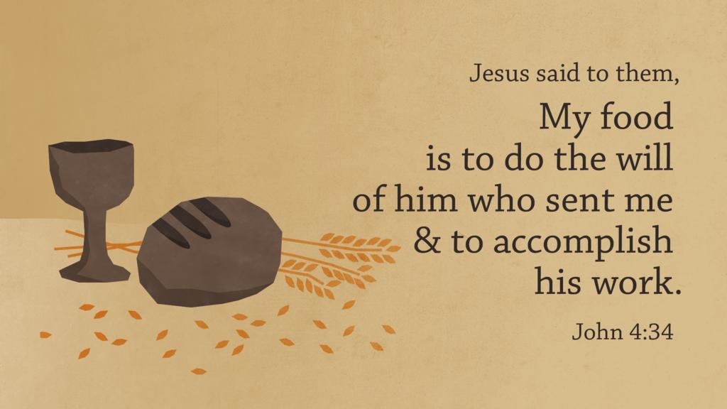 John 4:34 large preview