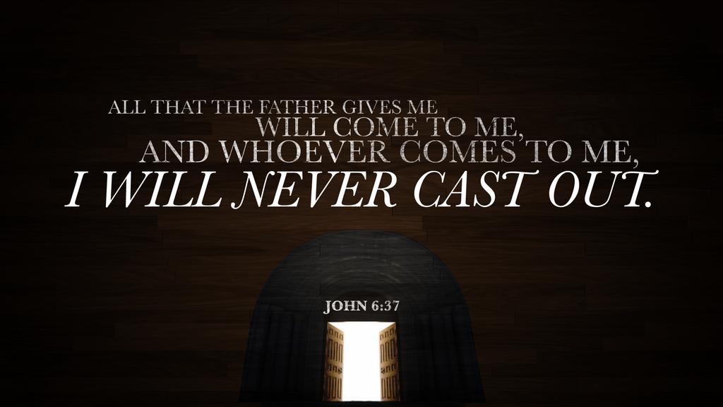 John 6:37 large preview