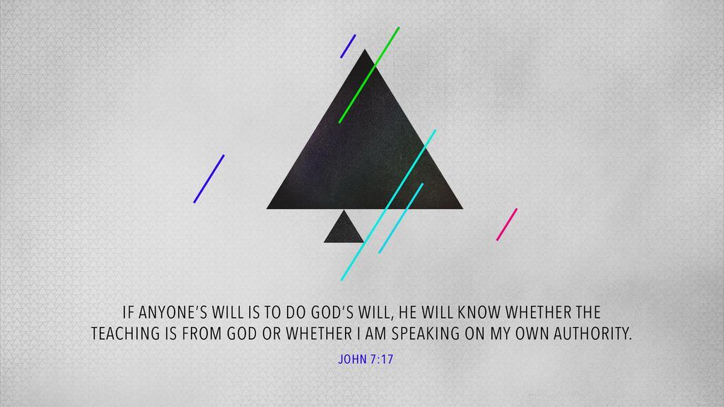 John 7:17 large preview