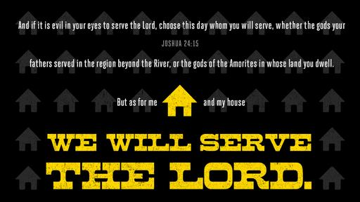 Joshua 24:15 verse of the day image