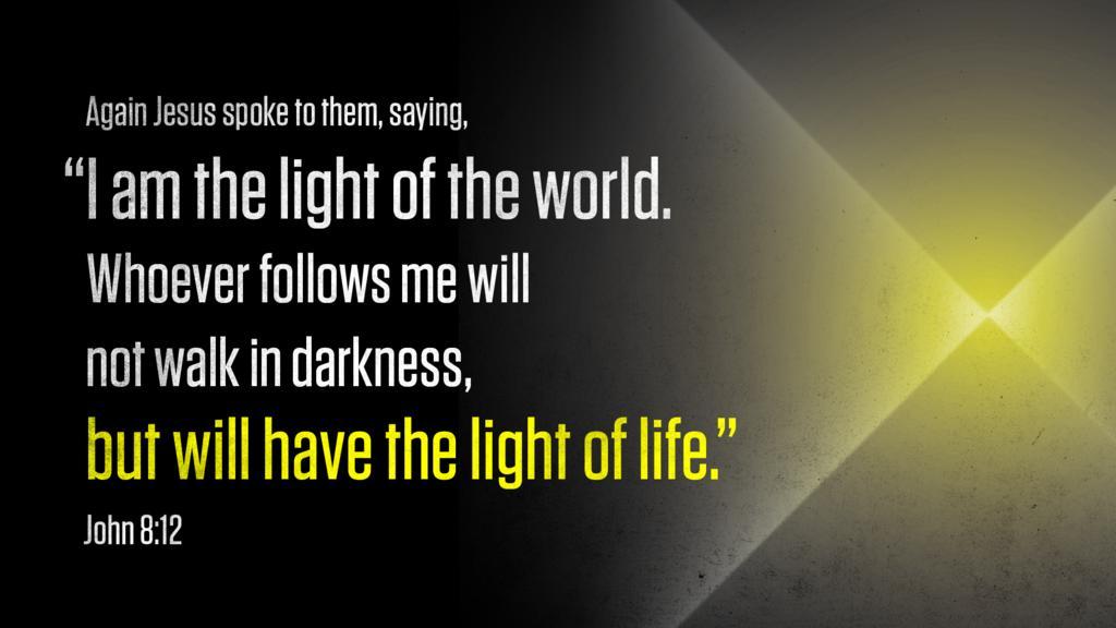 John 8:12 large preview