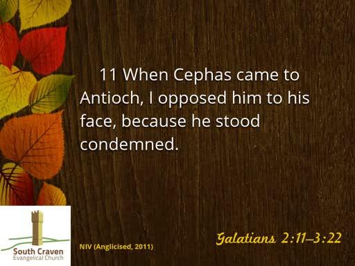 Galatians 3:1-14