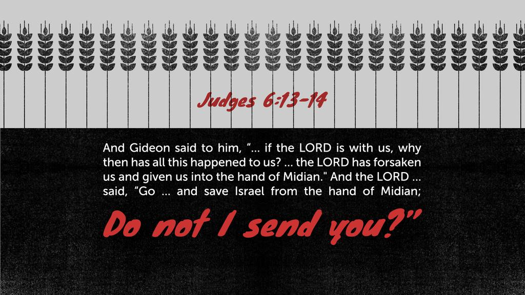 Judges 6:13–14 large preview