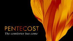 Pentecost 16x9 PowerPoint Photoshop image