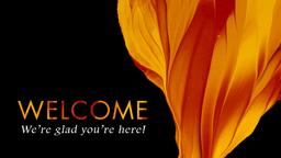 Pentecost welcome 16x9 PowerPoint Photoshop image
