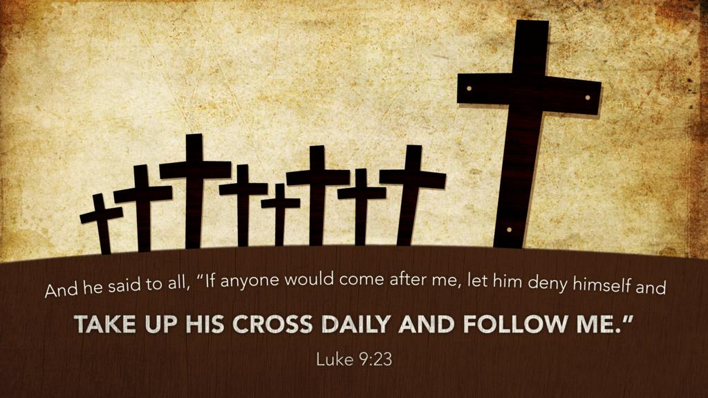 Luke 9:23 large preview