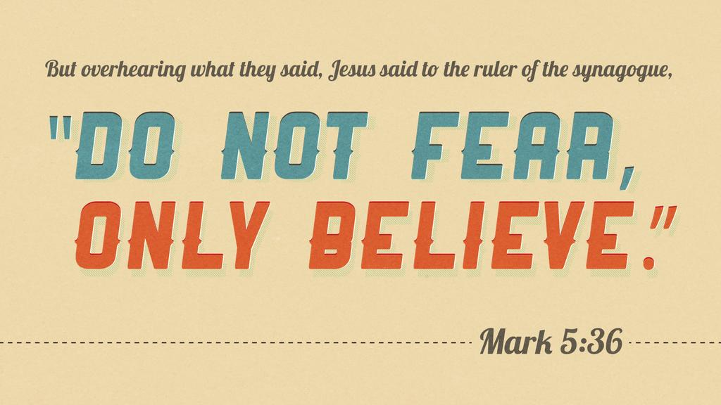 Mark 5:36 large preview