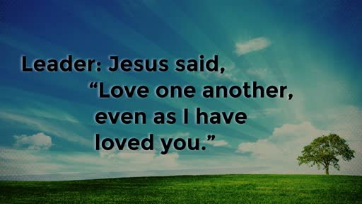 On the Sabbath .....Jesus said
