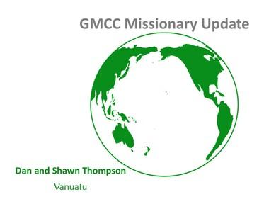 GMCC Missionary Update