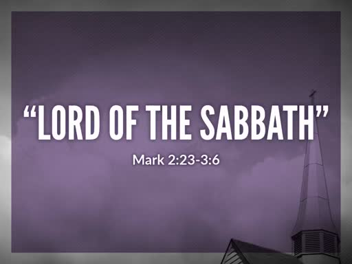 The P9-1-19 Lord of the Sabbath