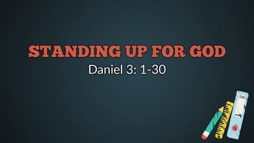 Standing Up For God