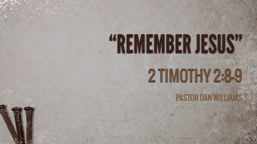 """Remember Jesus"""