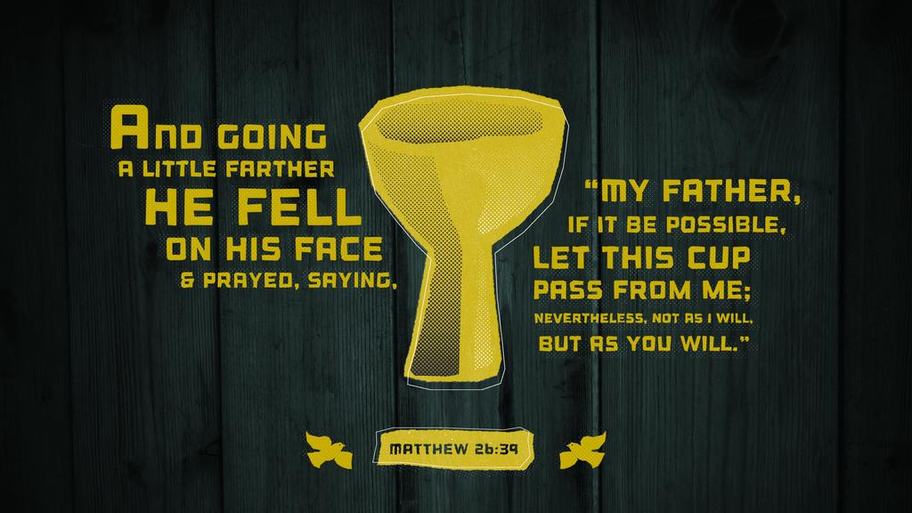 Matthew 26:39 large preview