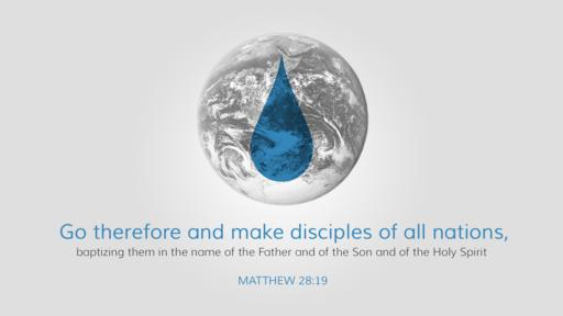 Matthew 28:19 verse of the day image
