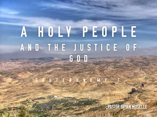 A Holy People and the Justice of God-Sunday, September 1 2019