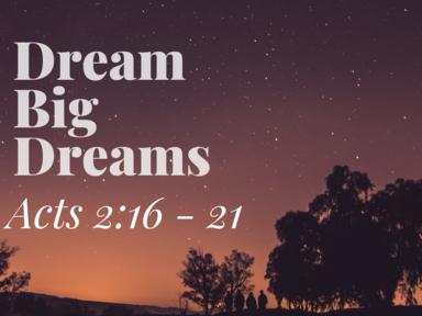 September 1 - Dream Big