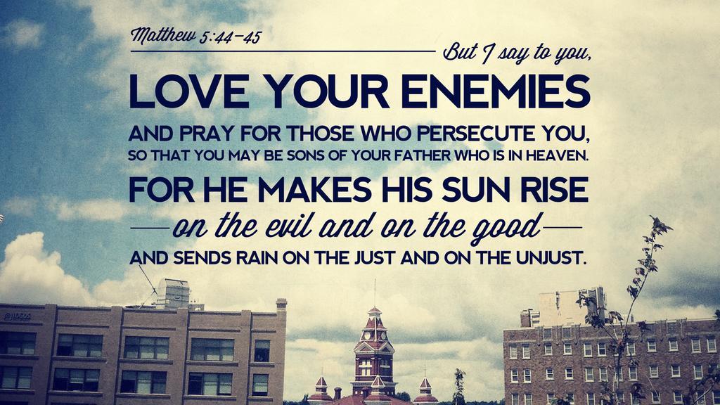Matthew 5:44–45 large preview