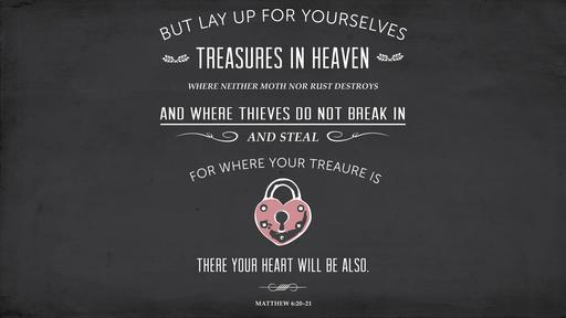 Matthew 6:20–21