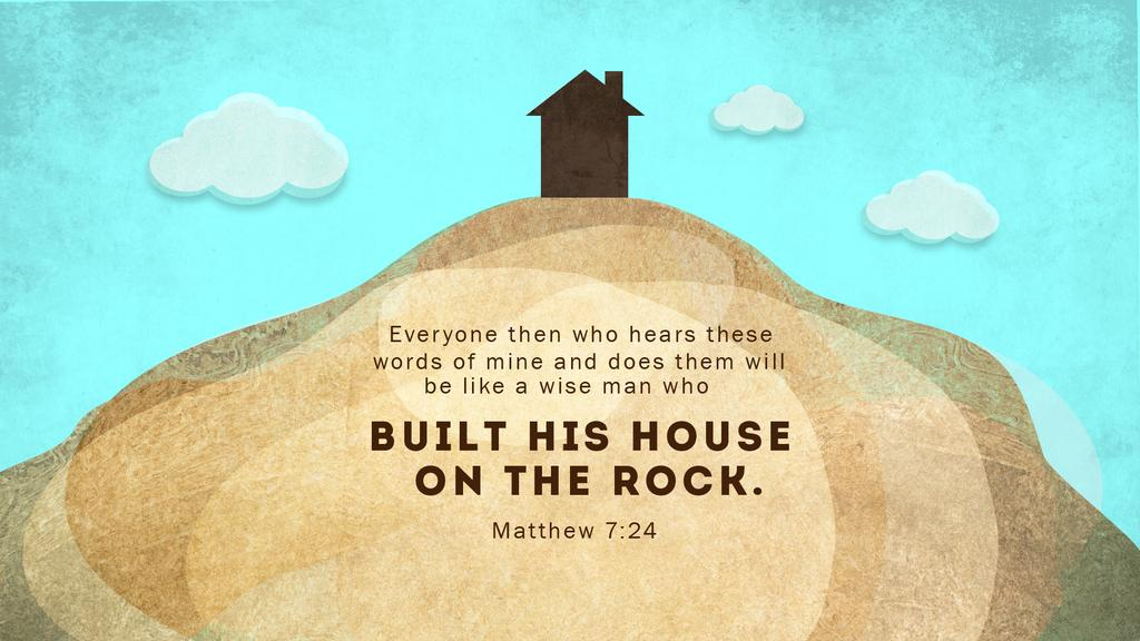 Matthew 7:24 large preview