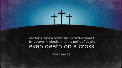 Philippians 2:8 verse of the day image