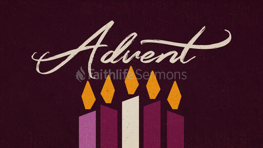 Advent Warm Candles