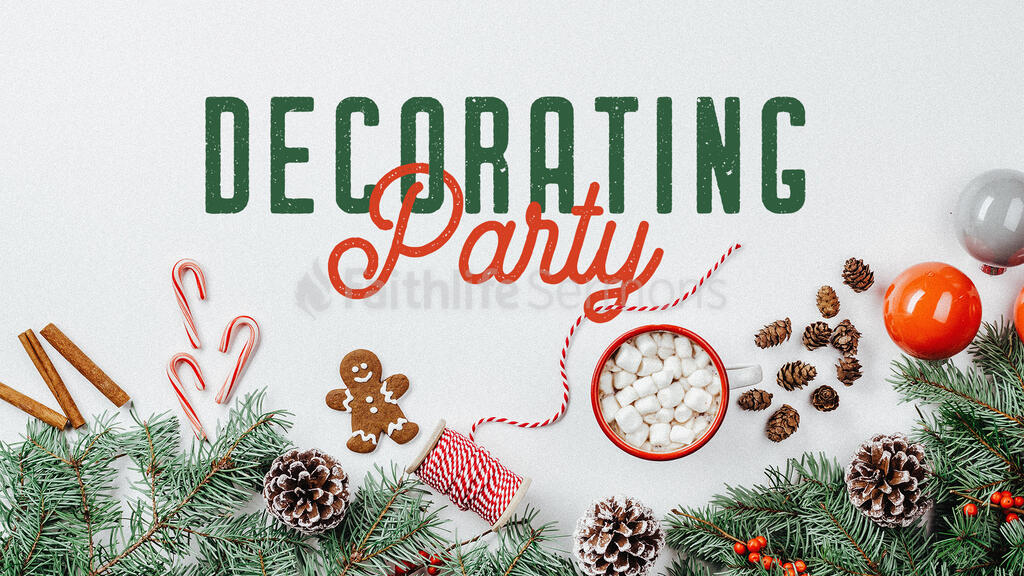 Decorating Party large preview