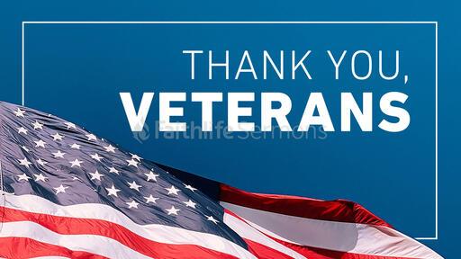 Thank You Veterans Sky