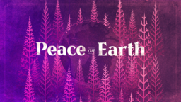 Peace On Earth Purple  PowerPoint Photoshop image 1