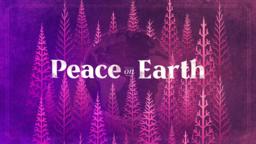 Peace On Earth Purple  PowerPoint Photoshop image 1