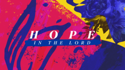 Hope In The Lord  PowerPoint Photoshop image 1