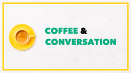 Coffee and Conversation  PowerPoint Photoshop image 1