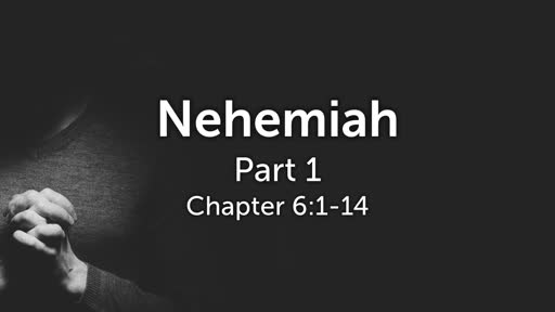 Chapter 6:1-14, Part 1