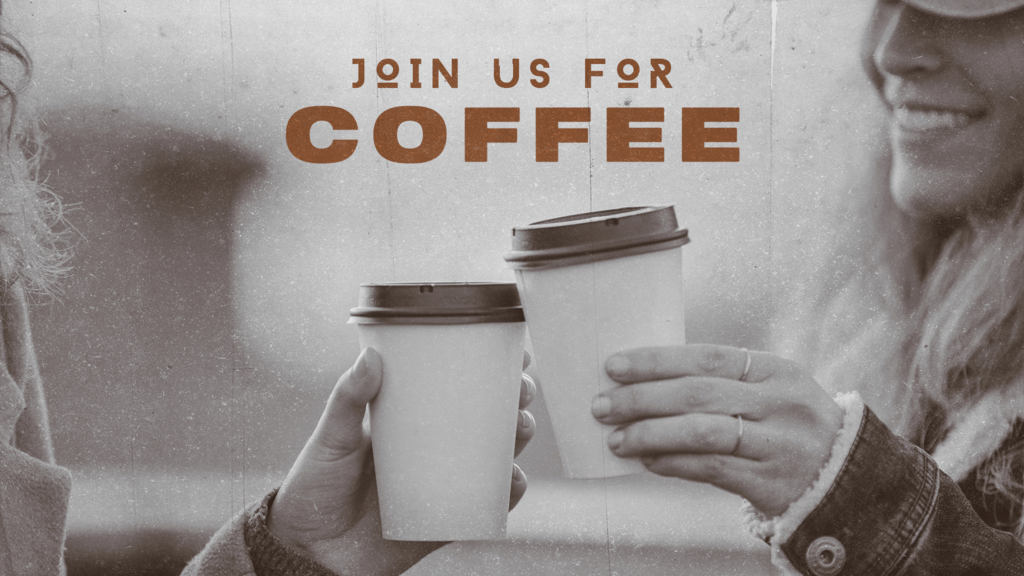 Join Us For Coffee Cup large preview