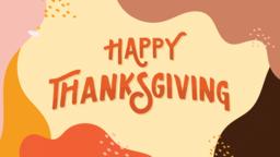Happy Thanksgiving Type  PowerPoint Photoshop image 1