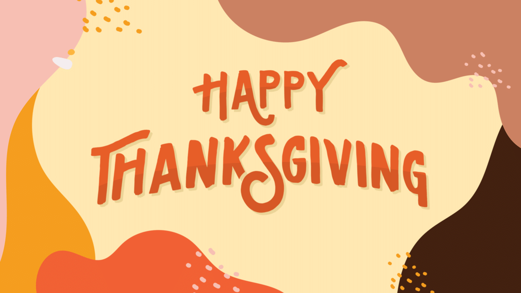 Happy Thanksgiving Type large preview