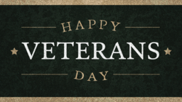 Happy Veterans Day Canvas  PowerPoint Photoshop image 1