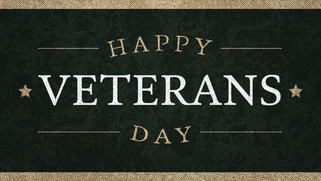 Happy Veterans Day Canvas large preview
