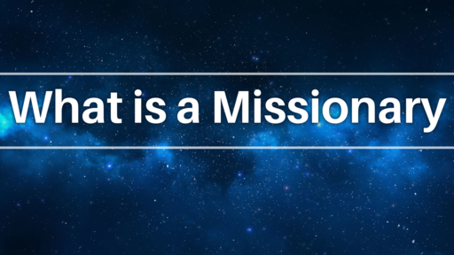 Wed night Missions 9-4-19