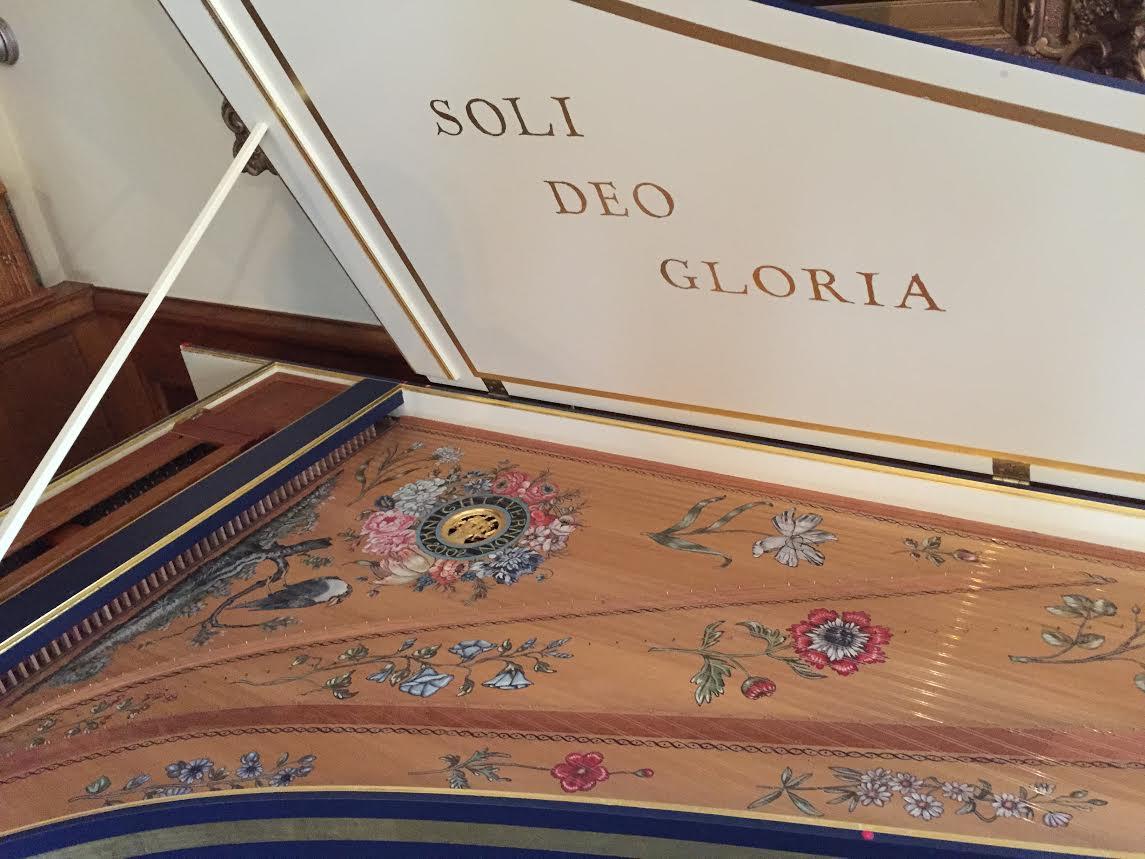 Harpsichord Decorative Shot