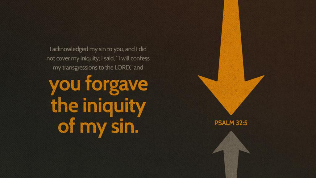 Psalm 32:5 large preview