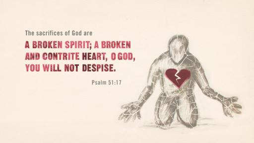 Psalm 51:17 verse of the day image