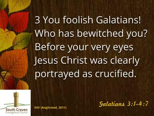 Galatians 3:15-22