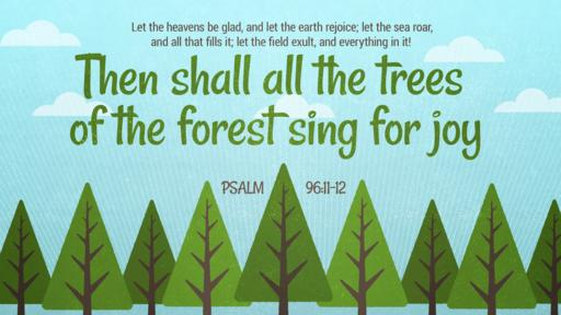 Psalm 96:11–12 verse of the day image