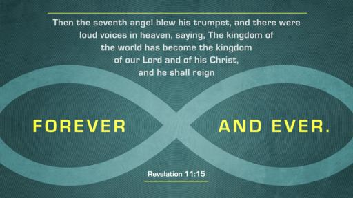 Revelation 11:15 verse of the day image
