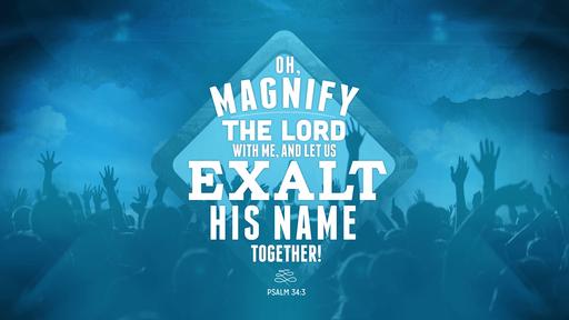 Psalm 34:3