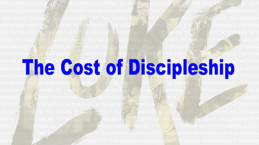 September 8, 2019 - 10:30 am FH The Cost of Discipleship